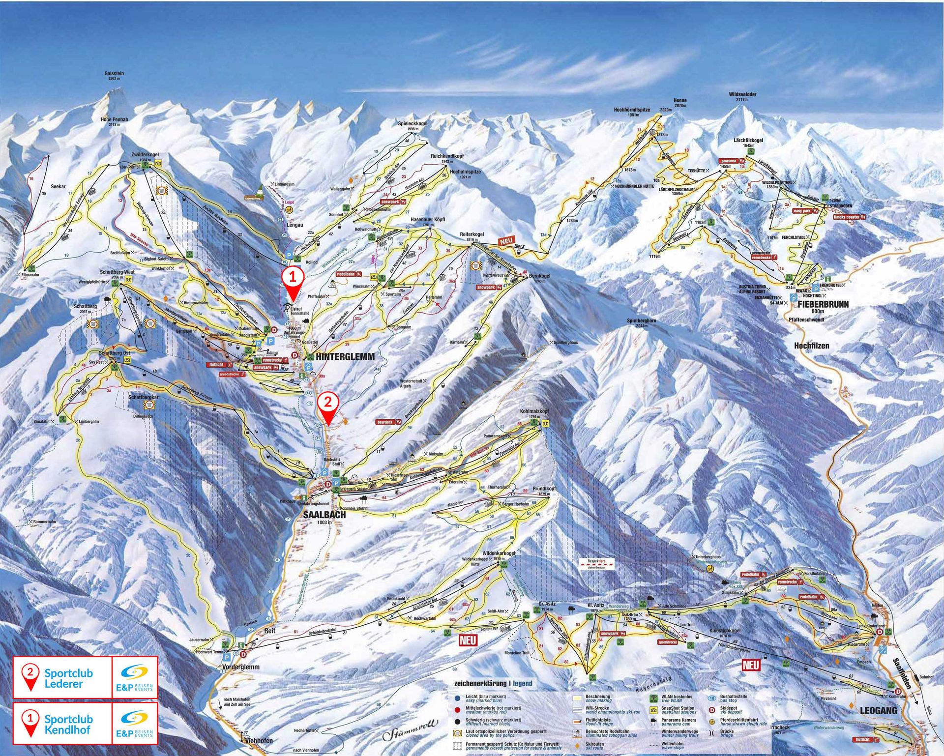 Ski-Wochenenden mit E&P Reisen und Events: Günstige Ski ...